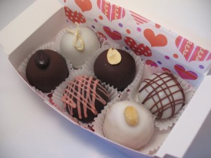 Assorted Cake Truffle gift box